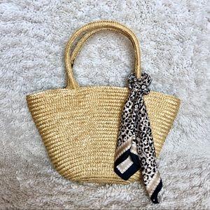 Handbags - Summer straw tote handbag
